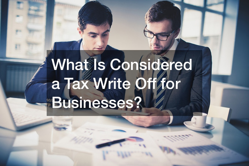 What Is Considered a Tax Write Off